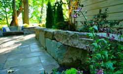 Muirfield Pond & Boulder Walls