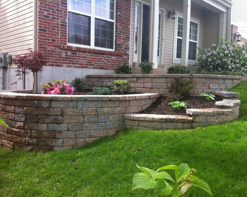 Tiered Retaining Wall Houzz