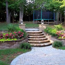 Traditional Landscape by Vedic Gardens & Nursery, LLC