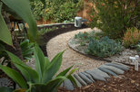 My Houzz: Backyard Cottage Office and an Artful Low-Water Garden