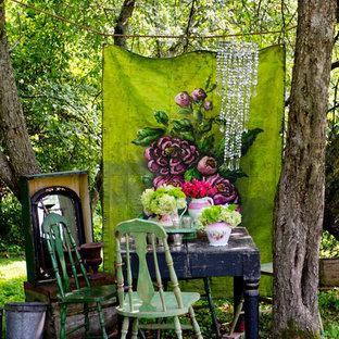 Idéer för en shabby chic-inspirerad trädgård