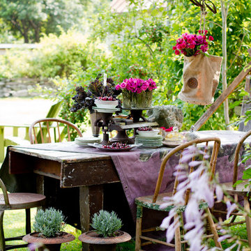 My Houzz: DIY Love and Nature-Inspired Colors Update a Couple's Garden