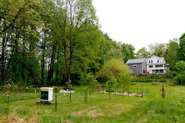 Farmhouse Landscape by Rikki Snyder