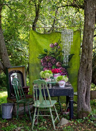 Shabby-chic Style Landscape by Rikki Snyder