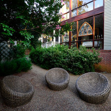 Eclectic Landscape by groundworks studio
