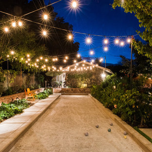 Inspiration for a traditional partial sun outdoor sport court in San Francisco.
