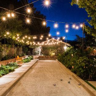 Halbschattiger Klassischer Garten mit Sportplatz in San Francisco