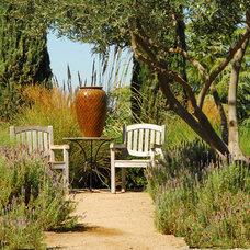 Mediterranean Landscape by Westfall Design Studio