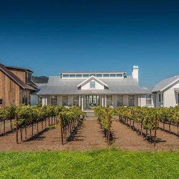 Napa Valley Vineyard Farmhouse