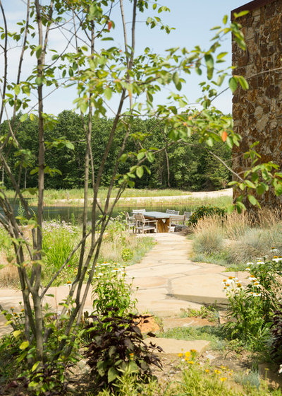 Contemporary Landscape by Arcadia Gardens, LLC