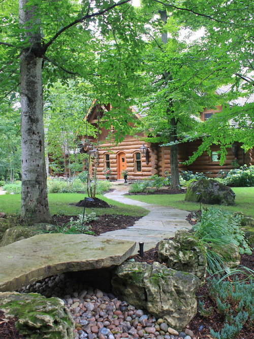 Log Landscaping Design Ideas Remodel Pictures Houzz