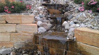 Natural Stone Pool & Wall