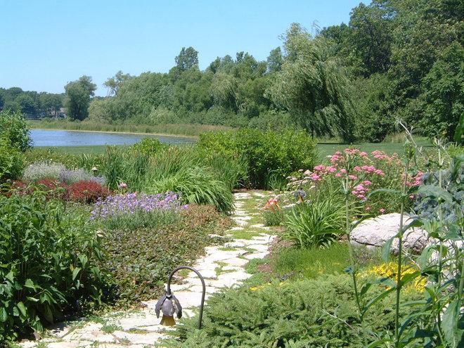 Traditional Landscape by Stephen Cox-Cox Landscape & Garden Design