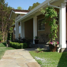 Traditional Landscape by Sarah Ray Landscape Design