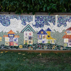 Eclectic Landscape neighborhood mosaic