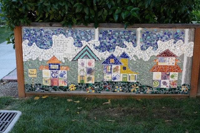 Eclectic Landscape neighborhood mosaic
