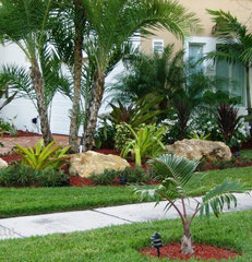 tropical landscape by Nerak C0. Landscaping