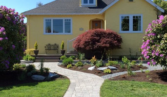 New front garden, walk way and entry