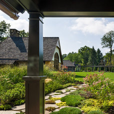 Traditional Landscape by Peter Zimmerman Architects