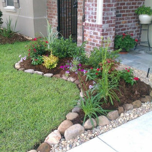 New landscape bed Install