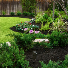 Traditional Landscape by Stewart Land Designs