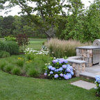Outdoor Kitchen Traditional Patio Portland By All