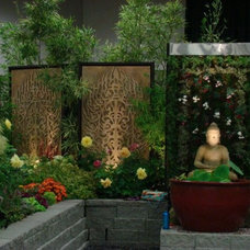 Asian Landscape by Treeline Designz
