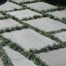Traditional Landscape by Richburg Stone Supply
