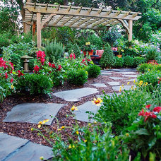 Eclectic Landscape by Groundswell Design Group, LLC