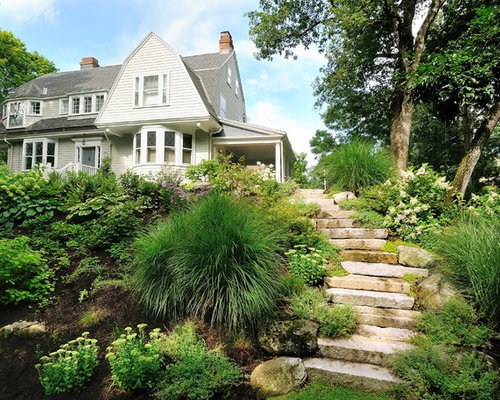 Residential Steep Slope Landscaping Home Design Ideas
