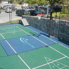 Traditional Landscape by Sport Court of Washington, DC