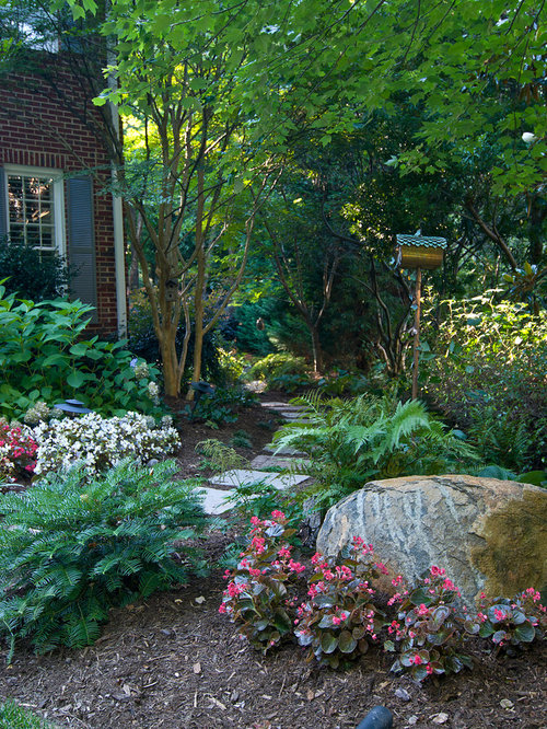 Landscaping Ideas For The North Side Of The House : Landscape berm home design ideas pictures remodel and decor