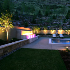 Contemporary Landscape by Sunline Landscaping LLC