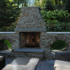 Traditional Landscape by Arabella Stone Co.