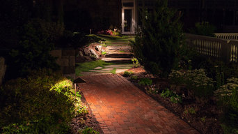 North Shore Project Landscape Lighting