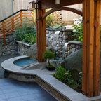 Courtyard photos - Contemporary - Landscape - Vancouver ...