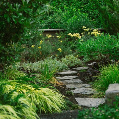Design ideas for a contemporary landscaping in New York.