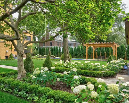 jardin victorien avec des pav s en pierre naturelle photos et id es d co de jardins. Black Bedroom Furniture Sets. Home Design Ideas