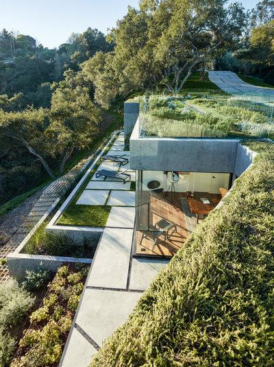 Moderno Giardino by Walker Workshop