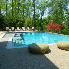 Modern Landscape by Great Oaks Landscape Associates Inc.