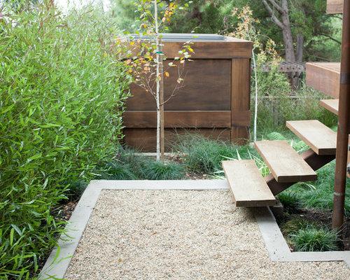 Fotos de jardines dise os de jardines industriales con - Jardines con gravilla ...