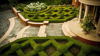 Formal English Garden Estate
