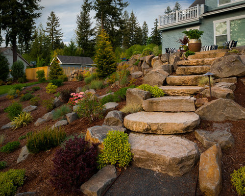 Hillside Landscaping Ideas Pictures Remodel And Decor