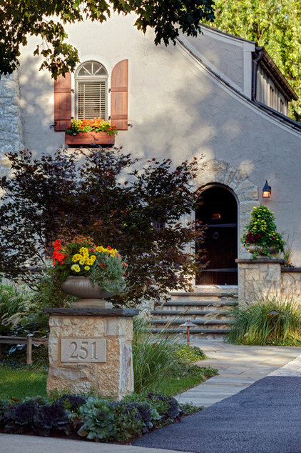 Traditional Landscape by Hursthouse Landscape Architects and Contractors