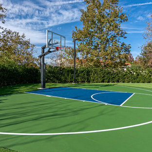 Inspiration for a transitional outdoor sport court in Orange County.