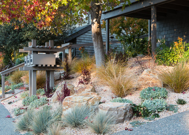 Transitional Landscape by Garden Nest Residential Landscape