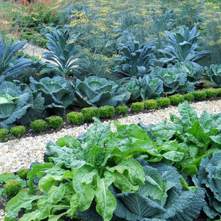 Design ideas for a traditional vegetable garden landscape in Burlington.