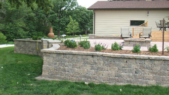 Our Landscape Design/Private Residence Rural Webster City, Iowa