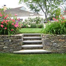 Stone Steps & Wall