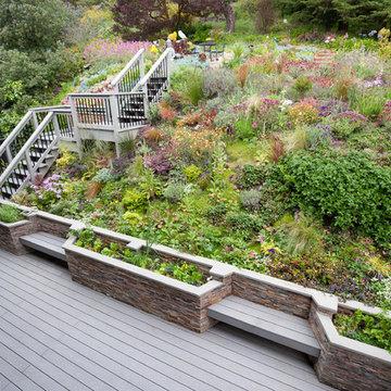 Outdoor Deck and Garden